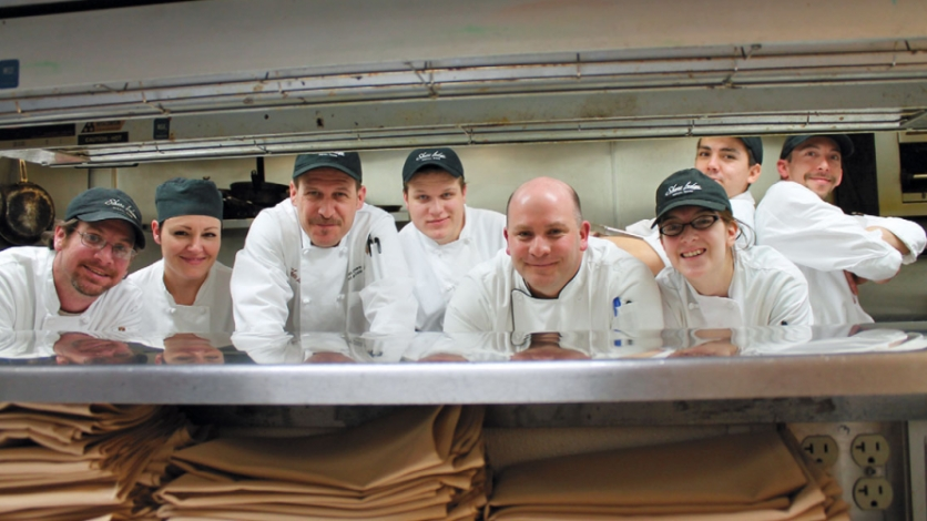 Chef Topple and crew