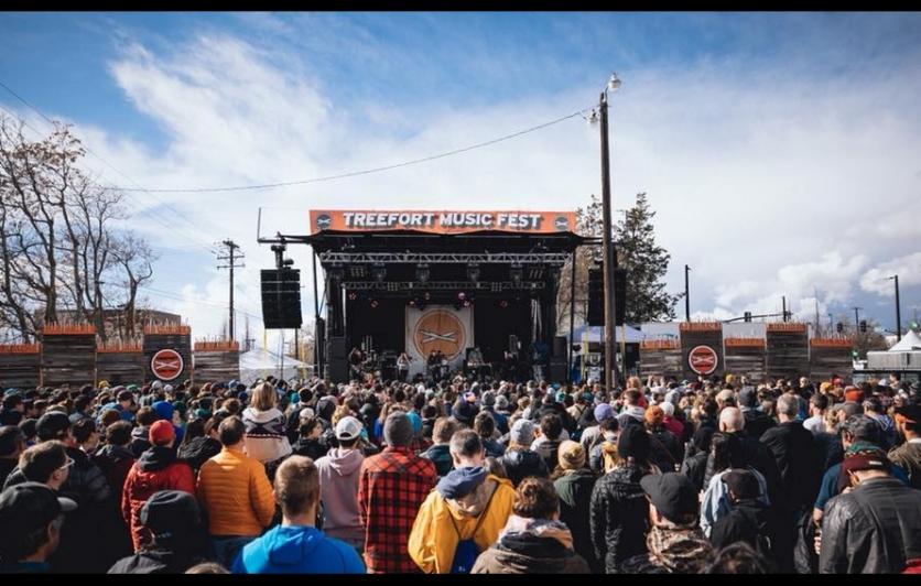 Treefort Music Festival Downtown Boise Idaho
