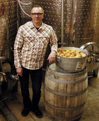 Chris Blanchard of Longdrop Cider