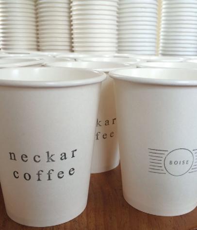Neckar Coffee, a local roaster in Idaho