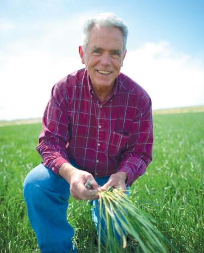 Organic Farmer Mike Heath
