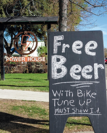 Power House: Free Beer with Bike Tune Up!