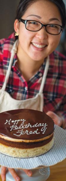 Michelle Kwak and Community Cake
