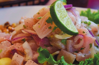 Ceviche from Lima Limon