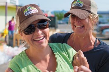 Lindsay Schramm and Elisa Nicole Clark