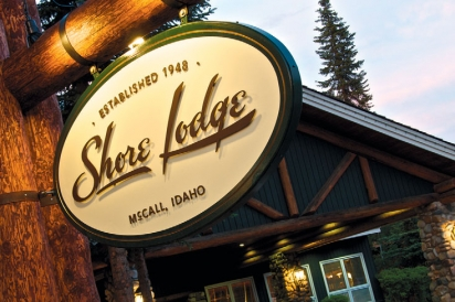 Shore Lodge Sign