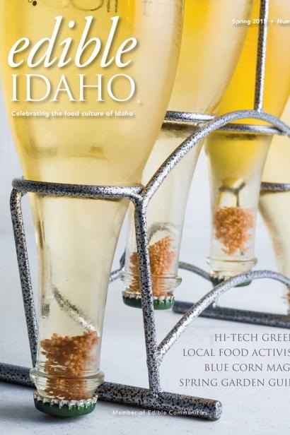 Edible Idaho Spring 2015 magazine cover