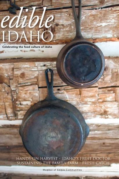 Edible Idaho Fall 2015 magazine cover