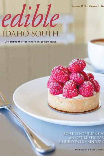 Edible Idaho Summer 2013 magazine cover