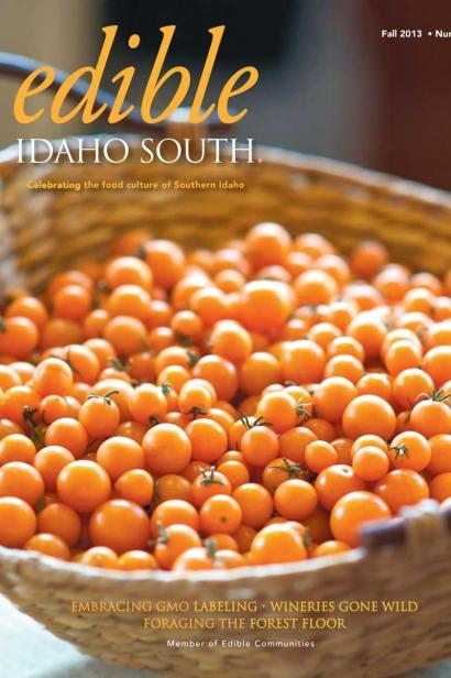 Edible Idaho Fall 2013 magazine cover