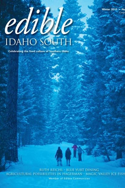 Edible Idaho Winter 2013 magazine cover