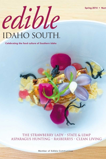 Edible Idaho Spring 2014 magazine cover