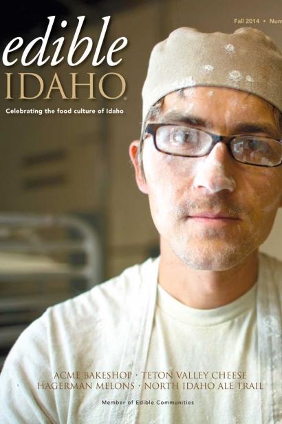 Edible Idaho Fall 2014 magazine cover