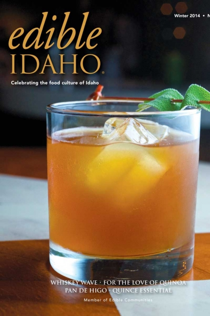 Edible Idaho Winter 2014 magazine cover