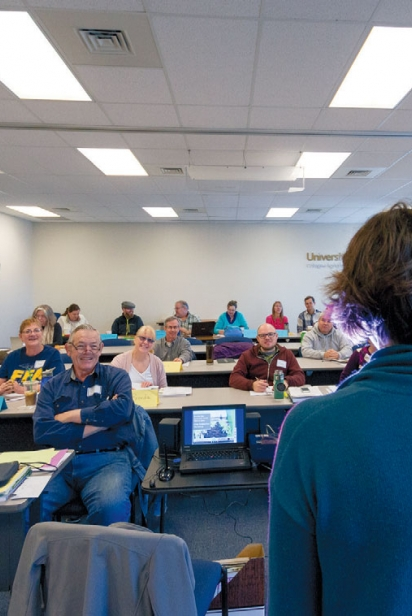 Students at a recent Beginning Farmer and Rancher training program