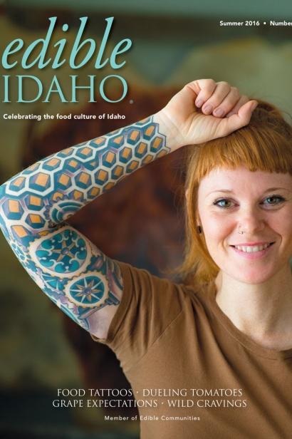 Edible Idaho Summer 2016 magazine cover