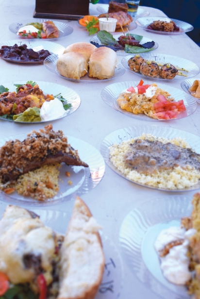 Dutch Oven Cook Off Spread