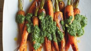 Carrot-Top Pesto