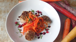 Moroccan Carrot Salad with Harissa Paste